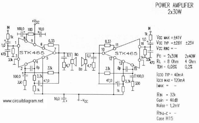free schematic diagram at  circuitdiagram net