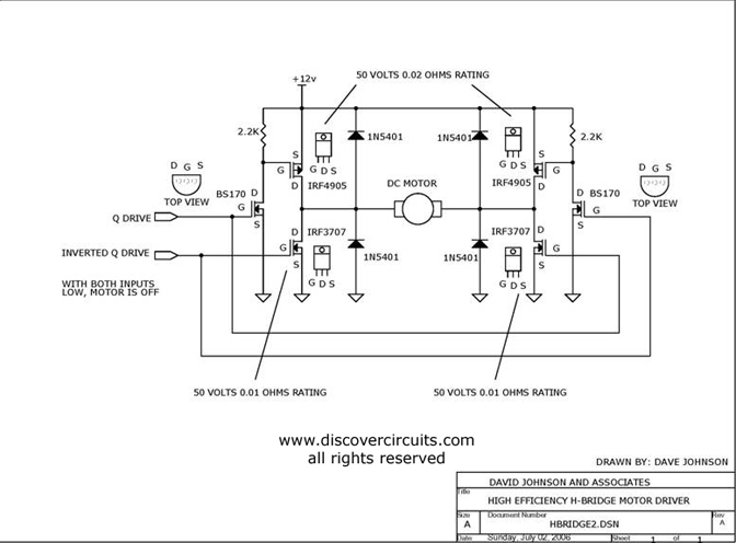 schematic n channel mosfet the wiring diagram h bridge schematic mosfet wiring diagram schematic