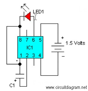 LED Flasher with LM3909 circuit