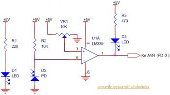 proximity sensor circuit