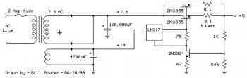 High Current 5V DC Power Supply