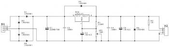 Positive Variable Power Supply circuit