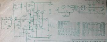 300W OCL Power Amplifier circuit diagram