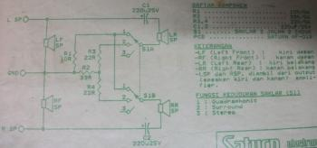 Passive Surround circuit diagram