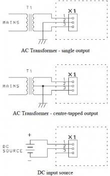 power supply input