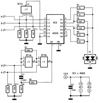 Multi-color LED Driver Schematic