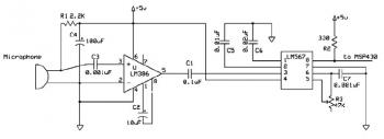 Sound Activation Circuit diagram