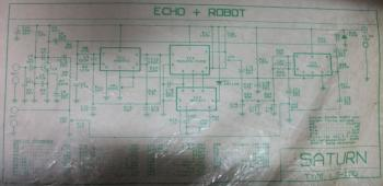 Echo Chamber + Robot Voice Effect circuit
