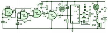 Cricket Chirping Sound Generator