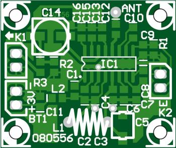FM Receiver with TDA7012T pcb layout