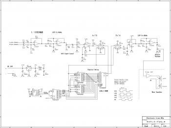 Surround Sound Processor Circuit diagram