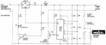 Battery Charger circuit for Lithium Battery