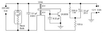5W Simple Inverter circuit diagram