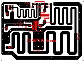 FM RF Amplifier 8 Watt circuit diagram