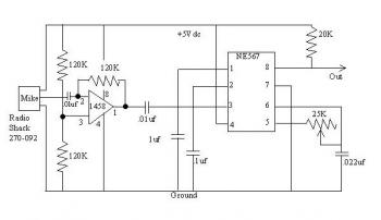 Sound Activation Circuit for your Robot