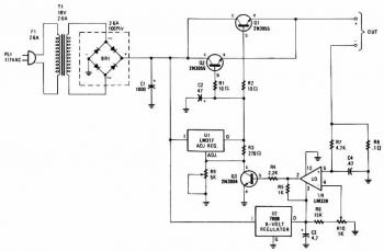 Universal Battery Charger circuit diagram