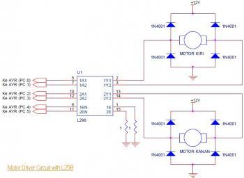 motor driver circuit L298