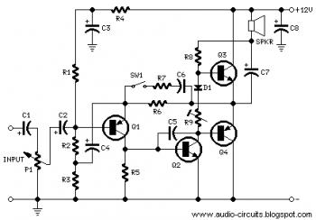 2009 07 01 archive also Mosfet Wideband  lifier 6767 besides Dual Channel Audio  lifier Schematic besides Snap On Battery Charger Schematic furthermore Simple Mic  lifier. on simple headphone amplifier circuit