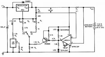 Lead Acid Battery Charger Schematic