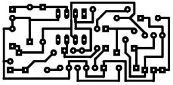 Low Impedance Mic Preamplifier using TL081 PCB layout